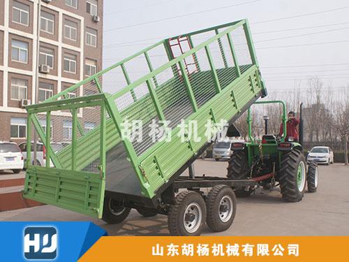 5吨并连轴高栏拖车