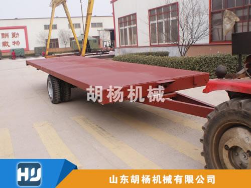 5T平板拖车