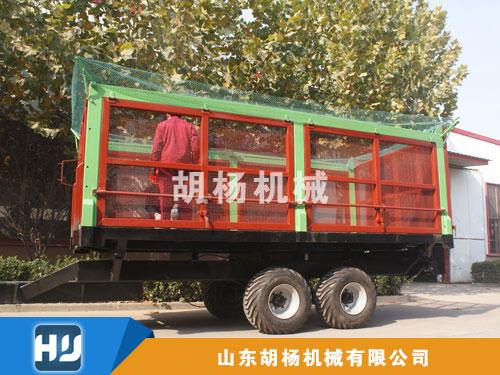 三向自卸甘蔗拖车